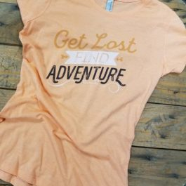 RTC - Get Lost Women's Fitted Crew Shirt