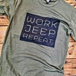 RTC - Work Jeep Repeat - Army Green